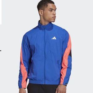 Adidas WOVEN TAPE TRACK JACKET size Medium